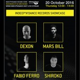 ADE 2016 InDeep'n'Dance Records Showcase