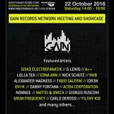 ADE 2016 InDeep'n'Dance presents: Gain Records Network Meeting and Showcase