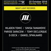 ADE 2016 InDeep'n'Dance presents: Night Light Records