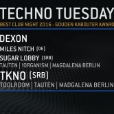 WIOYM – Techno Tuesday – 6 December 2016