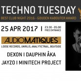 Techno Tuesday | Audiomatiques (IT)