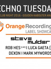 Techno Tuesday | Orange Recordings Showcase
