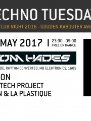 Techno Tuesday | Tom Hades (BE)