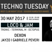 Techno Tuesday | Loco & Jam