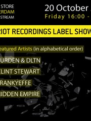 ADE 2017 InDeep'n'Dance presents Riot Recordings Label Showcase