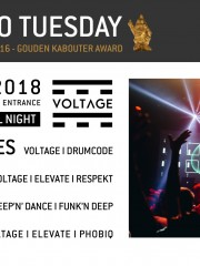 Techno Tuesday I Voltage Label Night