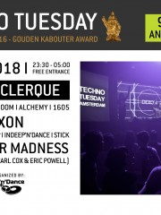 Techno Tuesday I Tomy DeClerque (SLO)