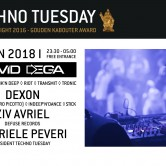 Techno Tuesday I Devid Dega (IT)