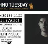Techno Tuesday I Raul Facio (USA)