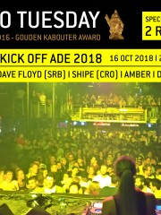Techno Tuesday – Unofficial Kick Off ADE