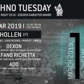Techno Tuesday 10 Year Anniversary – Hollen (IT)