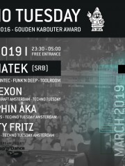Techno Tuesday 10 Year Anniversary – RanchaTek (SRB)