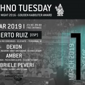 Techno Tuesday 10 Year Anniversary – Alberto Ruiz (ESP)