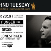 Techno Tuesday – Remy Unger (NL)