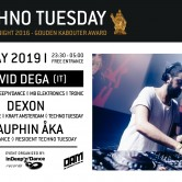 Techno Tuesday – Devid Dega (IT)