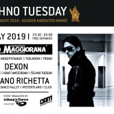 Techno Tuesday – Dino Maggiorana (ITP)