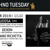 Techno Tuesday – Rudosa (UK)