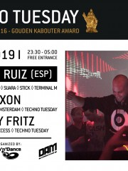 Techno Tuesday – Alberto Ruiz (ESP)