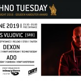 Techno Tuesday – Milos Vujovic (SRB)