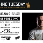 Techno Tuesday – Carlos Perez (ESP)