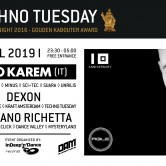 Techno Tuesday – Uto Karem (IT)