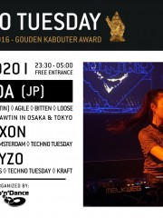 Techno Tuesday – YUADA (JP)