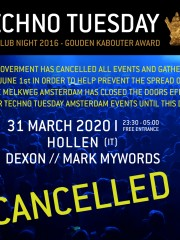 *CANCELLED* Techno Tuesday 11 Years – Hollen (IT)