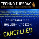 *CANCELLED* Techno Tuesday – Hollen (IT)