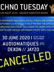 *CANCELLED* Techno Tuesday – Audiomatiques (IT)